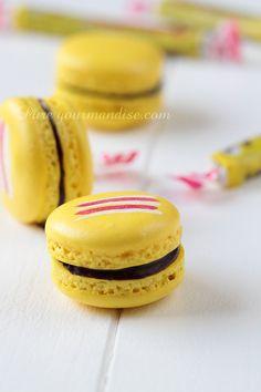 Macaroon Wedding Favors, Macaron Favors, Macaron Recipe, Macarons, French Macaroons, Sweet Little Things, French Pastries, Desert Recipes, Cupcake Cakes