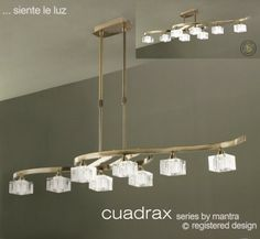Cuadrax is a modern contemporary lighting collection from Mantra Lighting The Cuadrax Semi Ceiling Light has an antique [… Brass Ceiling Light, Semi Flush Ceiling Lights, Modern Ceiling, Ceiling Pendant, Ceiling Lamp, Lamp Light, Ceiling Lighting, Mantra, Glass Room