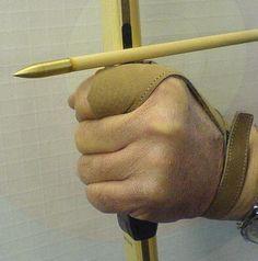 Leather Archery Glove