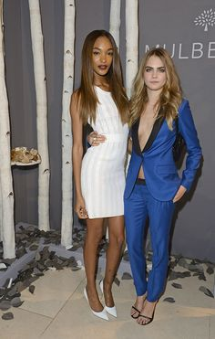 Cara Delevingne and Jourdan Dunn's Friendship Is Intimidating in the Best Way Possible | Hollyscoop