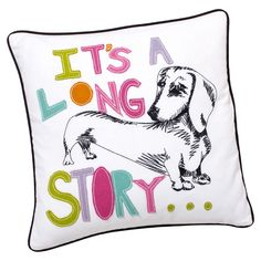 ASPCA Pet Pals Dachshund Pillow Cover from Pottery Barn Kids