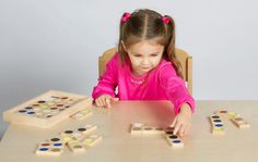 Tactile Dominoes   Puzzles & Games   e-Special Needs