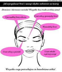 Zobacz zdjęcie Super sprytny sposób na usuwanie włosków z twarzy i regulację…