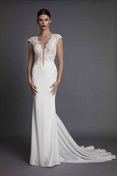 Aisha Muse 2017 Berta Bridal Gowns Wedding