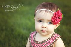 Pink Felted Flower Headband Strawberry Pink Photo by @Liane Knack