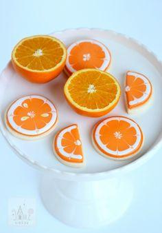 citrus cookie decorating tutorial and recipe