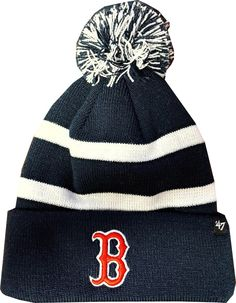 a80a7a7da1a Boston Red Sox Breakaway 47 Brand Navy Cuff Knit Hat Red Sox Hat
