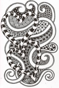 zen - More doodle ideas - Zentangle - doodle - doodling - zentangle patterns. zentangle inspired - #zentangle #doodling #zentanglepatterns