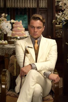 Before the weekend, check this Leo photograph from The Great Gatsby. Hopefully, the weekend 's his luck day.