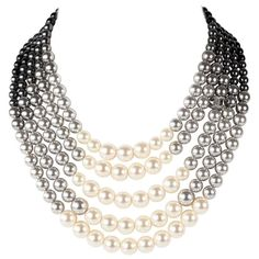 Dainty Diamond Necklace, Diamond Cross Necklaces, Cluster Necklace, Multi Strand Necklace, Bar Necklace, Beaded Jewelry, Jewelry Necklaces, Fine Jewelry, Beaded Necklace