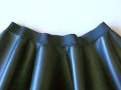 tutorial falda capa con cinturilla elastica para niña, moda niña,pequeña fashionista