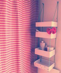 LE BLOG TALALILALA: My Little Box - Petit rangement suspendu #DIY