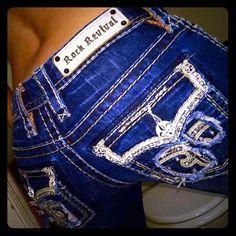 Rocks Sz 25 Ava slim boot Rocks.. Sz 25 but fit like 24.. Inseam 31-32.. Ava slim boot Rock Revival Jeans Boot Cut