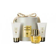 Acqua di Parma Magnolia Nobile Set 50ml Eau De Parfum Spray + 50ml Showergel + 50ml Bodycream - Acqua di Parma parfum Dames - ParfumCenter.n...