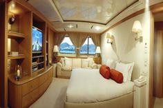 Mega Yacht Cabin