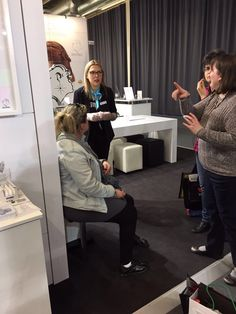 Ear piercing with Studex at Baselworld 2017
