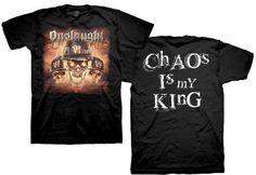 Onslaught - Chaos T-Shirt for $19.95  #onslaught #metal #tshirts #tshirt #thrash