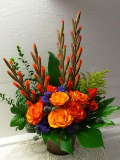 The Undermined Importance of Flowers - Send Flowers Online Basket Flower Arrangements, Altar Flowers, Funeral Flower Arrangements, Vase Arrangements, Beautiful Flower Arrangements, Funeral Flowers, Flower Centerpieces, Flower Decorations, Flowers For Men
