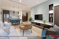 Thiết kế nội thất chung cư Discovery Complex căn hộ A3