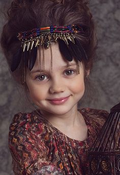 Даша Костина.  There are just WAY TOO MANY beautiful children in the world to pin them all.  These are the blessings of the future of the world.. HC