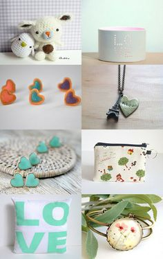 Heartmade treasures by Xianna on Etsy for the weekly challenge of Etsy BCN www.etsy.com/teams/14317/etsy-bcn  Follow us on:  www.facebook.com/EtsyBarcelona twitter.com/EtsyBCN   --Pinned with TreasuryPin.com