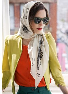Make Your World-Traveler Fantasies Come To Life With These Whimsical Scarves