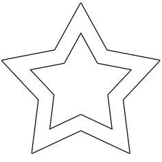 Şekiller - Yıldız Şablonları - Projedenizi