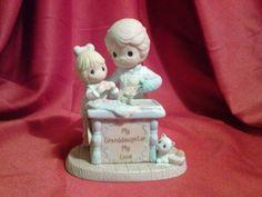 "Precious Moments ""My Granddaughter, My Love"" Hamilton Collection Figure 2006"