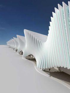 Reggio Emilia Station | Santiago Calatrava, click for more images