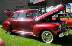 1941 Chevy In good looking Red