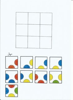 This website (in a foreign language*) provides puzzles that require the student to match up colored circles. It forces the student to think critically and problem solve. Math Games, Preschool Activities, Visual Perception Activities, Occupational Therapy Activities, Addition Activities, Languages Online, Early Literacy, Busy Book, Puzzles For Kids