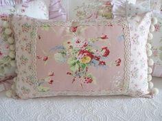 Pillow cases, Rachel Ashwell fabrics and Cath Kidston fabrics
