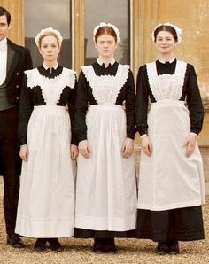 VICTORIAN MAID OUTFIT  Adult Sizes by WhimseyApronsEtc on Etsy, $90.00