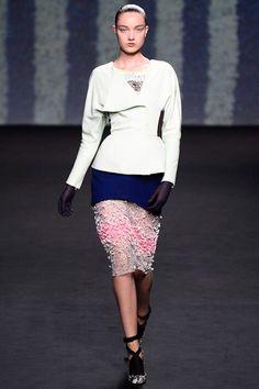 Christian Dior Fall 2013 Haute Couture Show