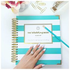 13 ingenious planners that will help you get your life together fall is the perfect time to plan your perfect springsummer wedding with the wedding book wedding planner junglespirit Choice Image