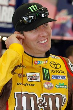 Kyle Busch....great picture of Rowdy!