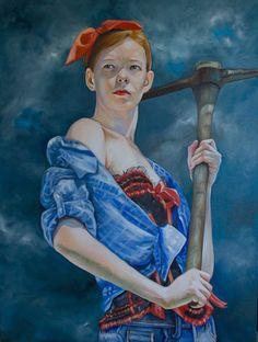 Kathrin Longhurst (1971 - …) – Pintora Alemã_17