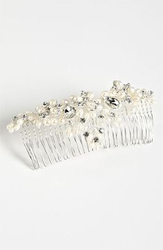 Pretty hair piece to wear after the veil! Cara 'Vintage' Hair Comb | Nordstrom #nordstromweddings