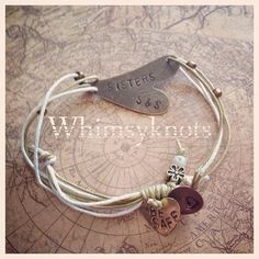 Personalized, Hand-Stamped Jewelry via Etsy I Love Jewelry, Metal Jewelry, Diy Jewelry, Beaded Jewelry, Jewelery, Jewelry Accessories, Handmade Jewelry, Jewelry Design, Jewelry Making