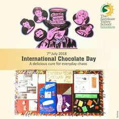 DID YOU KNOW?  Eating chocolate while studying helps the brain retain new information and it is linked to higher test scores.  So this World Chocolate Day enjoy your chocolates and show the strengthen your memory. #InternationalChocolateDay #TSVS #AadharStudents #SopaanStudents #ShikharStudents #PranganStudents #SVN