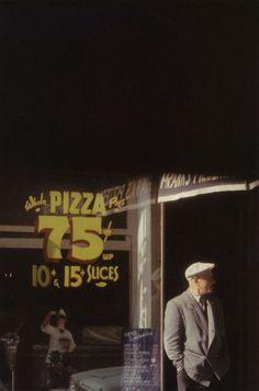 Saul Leiter Pizza, Peterson, 1952