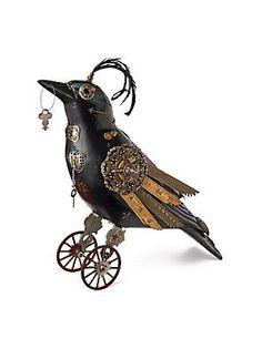 #steampunk crow