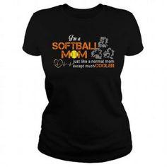 im a softball mom just like a normal mom just cooler tshirt Sweatshirt Refashion, T Shirt Diy, Grey Sweatshirt, Frog T Shirts, Funny Tee Shirts, Softball Mom Shirts, Blank T Shirts, Super Mom, Sport T Shirt