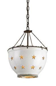 Star Colander Pendant $536.00 (USD).  Product in photo is from www.wellappointedhouse.com