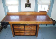 Patrick Leach's Workbench by Popular Woodworking, via Flickr