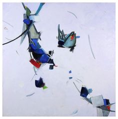 Caroline Marshall - Learning to Fly, oil on canvas, 2010