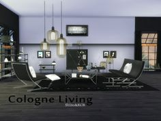 Sims 4 CC's - The Best: Livingroom by ShinoKCR
