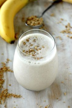 THE BEST BANANA & HONEY SMOOTHIE EVER
