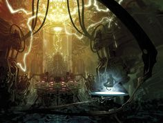This Stunning Sci-Fi Reimagination Of The Mahabharata Will Leave You In Awe Concept Art Books, Indian Art Gallery, The Mahabharata, Image Fun, One With Nature, Art For Art Sake, Cool Cartoons, Mind Blown, Cyberpunk