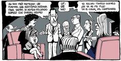 Rajoy comunica a sus principales espadas que necesitan una auditoría interna, en la viñeta de Ferreres del 2 de febrero del 2013 www.elperiodico.com #humor #ferreres #lospapelesdebarcenas